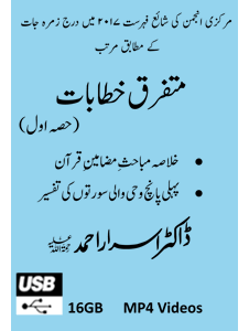 Picture of 16-GB (USB) Mutafarriq Khutbaat Part-01