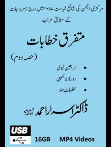 Picture of 16-GB (USB) Mutafarriq Khutbaat Part-02