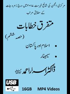 Picture of 16-GB (USB) Mutafarriq Khutbaat Part-06